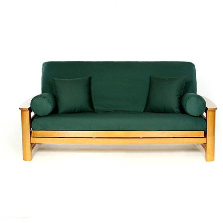 Lifestyle Covers  Hunter Green Full-size Futon - Hunter Green Futon Cover