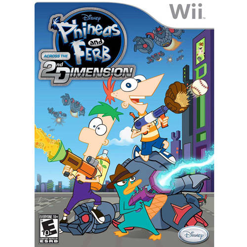 Phineas & Ferb: Across The 2Nd Dimension  (Wii) - Pre-Owned