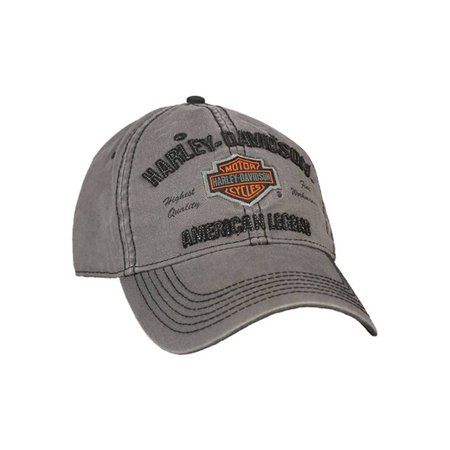 Harley-Davidson - Harley-Davidson Men s Embroidered Bar   Shield Baseball  Cap 6e17c1b8902f