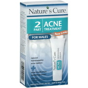 Nature's Cure: 2-Part Acne Treatment for Males