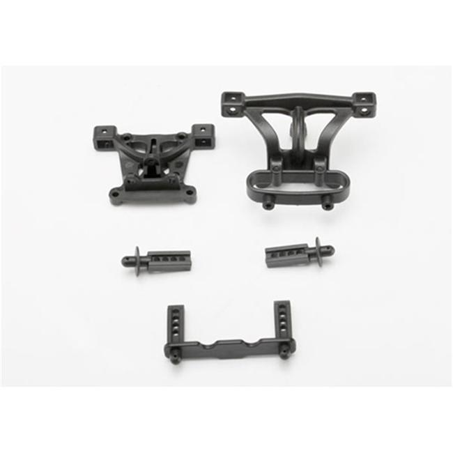 Traxxas TRA7015 Front and Rear 1-16 Body Mounts with Posts