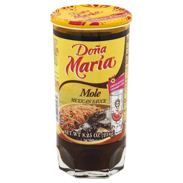 Dona Maria Mole Mexican Condiment 8.25 oz. Jar