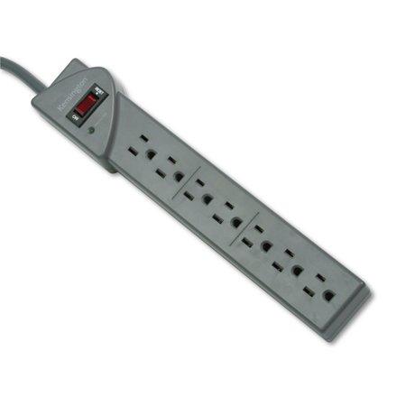 Kensington Guardian Premium Surge Protector, 7 Outlets, 6 ft Cord, 540 Joules, Gray (Primium Outlets)