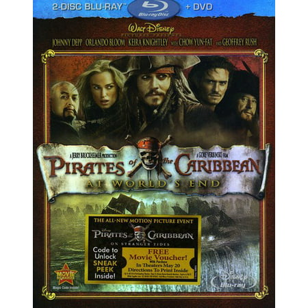 Pirates of the Caribbean: At World's End (Blu-ray + DVD) Pirates Of The Caribbean Treasure Chest