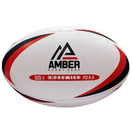 Amber Club Match & Training Rugby Ball Size 4