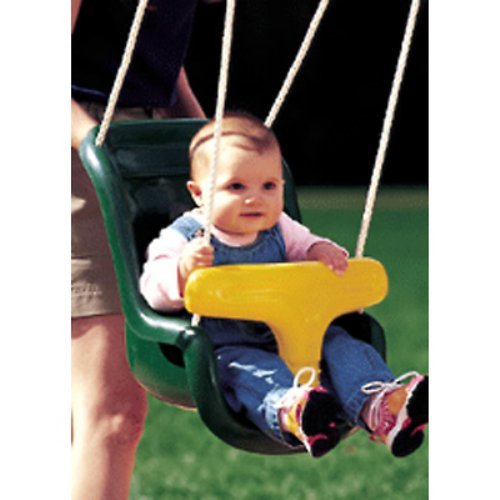 Kidwise Molded Infant Swing - Green/Yellow
