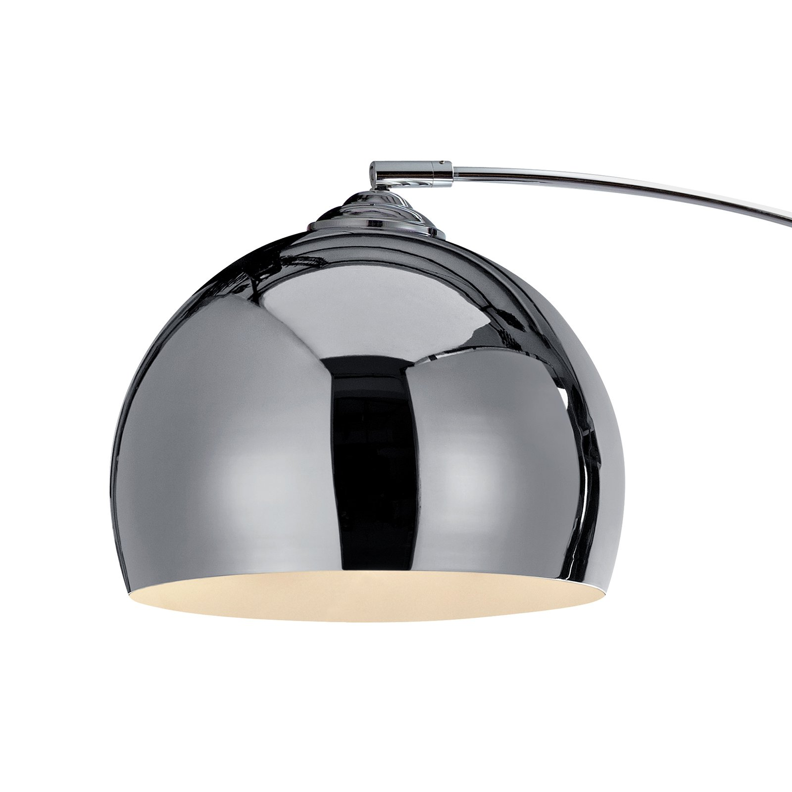 Copper Shade Versanora- Arquer Arc Floor Lamp 67/'H Black Marble Base
