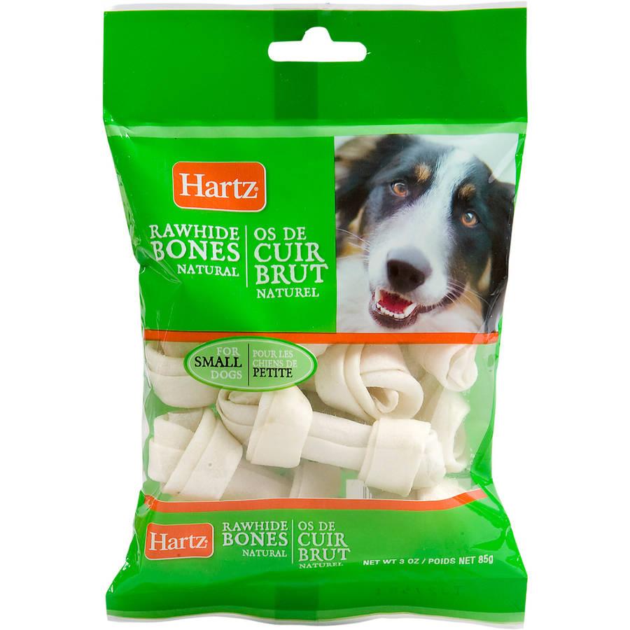 Hartz 86987 3 oz Prime Beef Brand Natural Mini Bone Chews