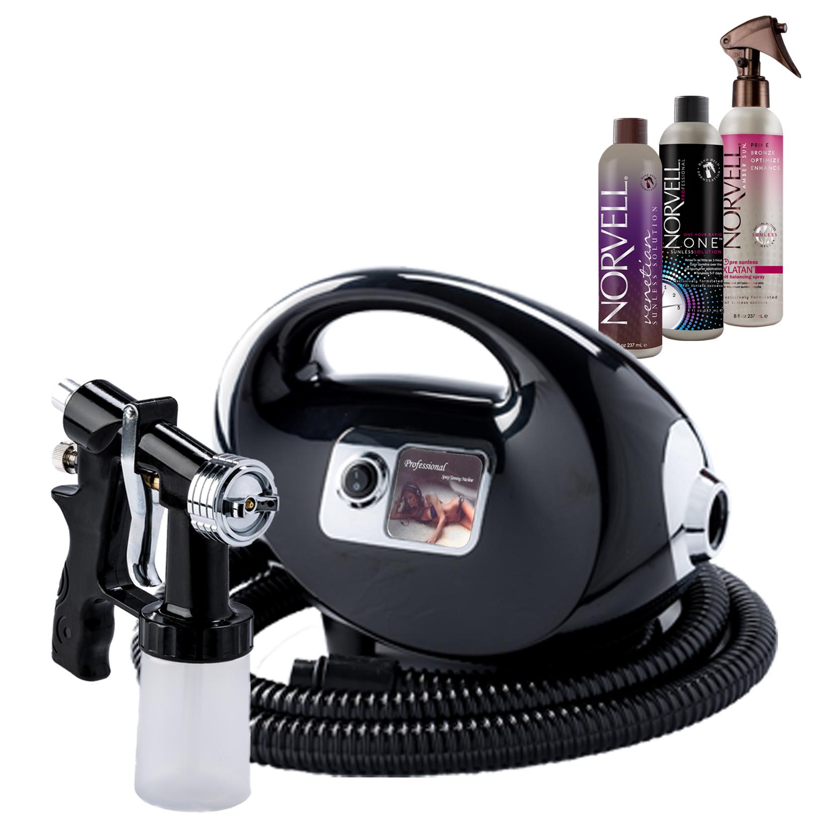 Fascination Spray Tanning Kit Machine Bundle with Tanning...