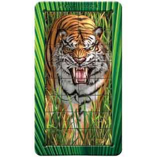 Tiger: Lenticular Puzzle