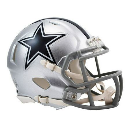 Riddell Dallas Cowboys Revolution Speed Mini Football Helmet (Louis Rams Mini Helmet)