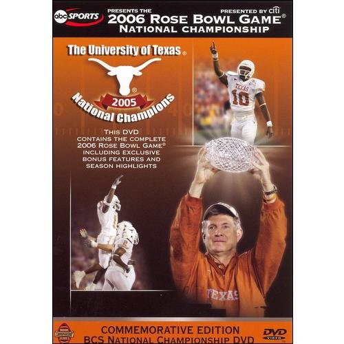 The 2006 Rose Bowl Game: BCS National Championship (Commemorative Edition) (Full Frame)
