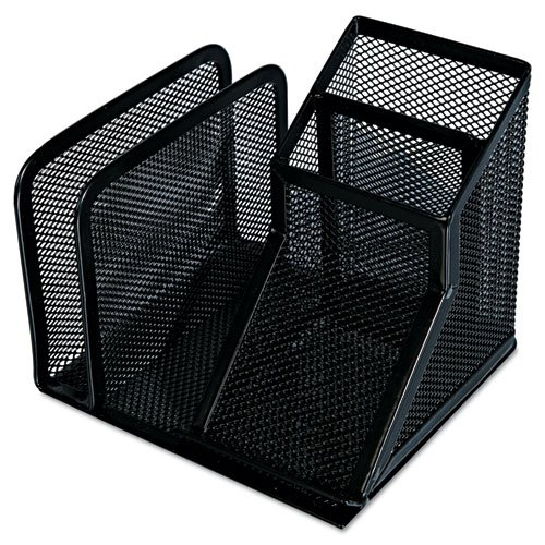 Universal Office Products 20002 Mesh Desk Organizer, Black