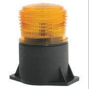 JW SPEAKER 539 Strobe Light, LED, Amber, Flange Mount