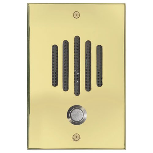 Channel Vision DP0222 Door Plate Polished Brass