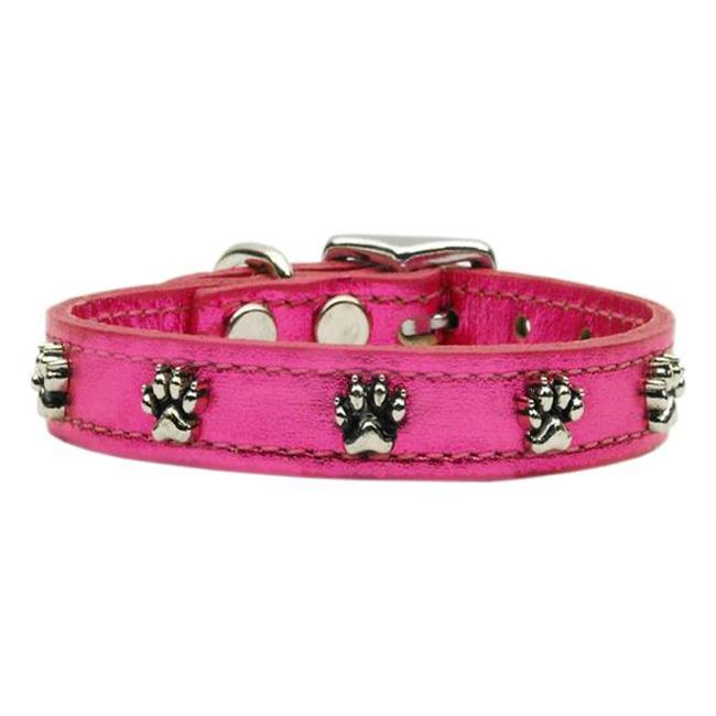 Mirage Pet Products 83-19 22PkM Metallic Paw Leather  Pink MTL 22 - image 1 of 1