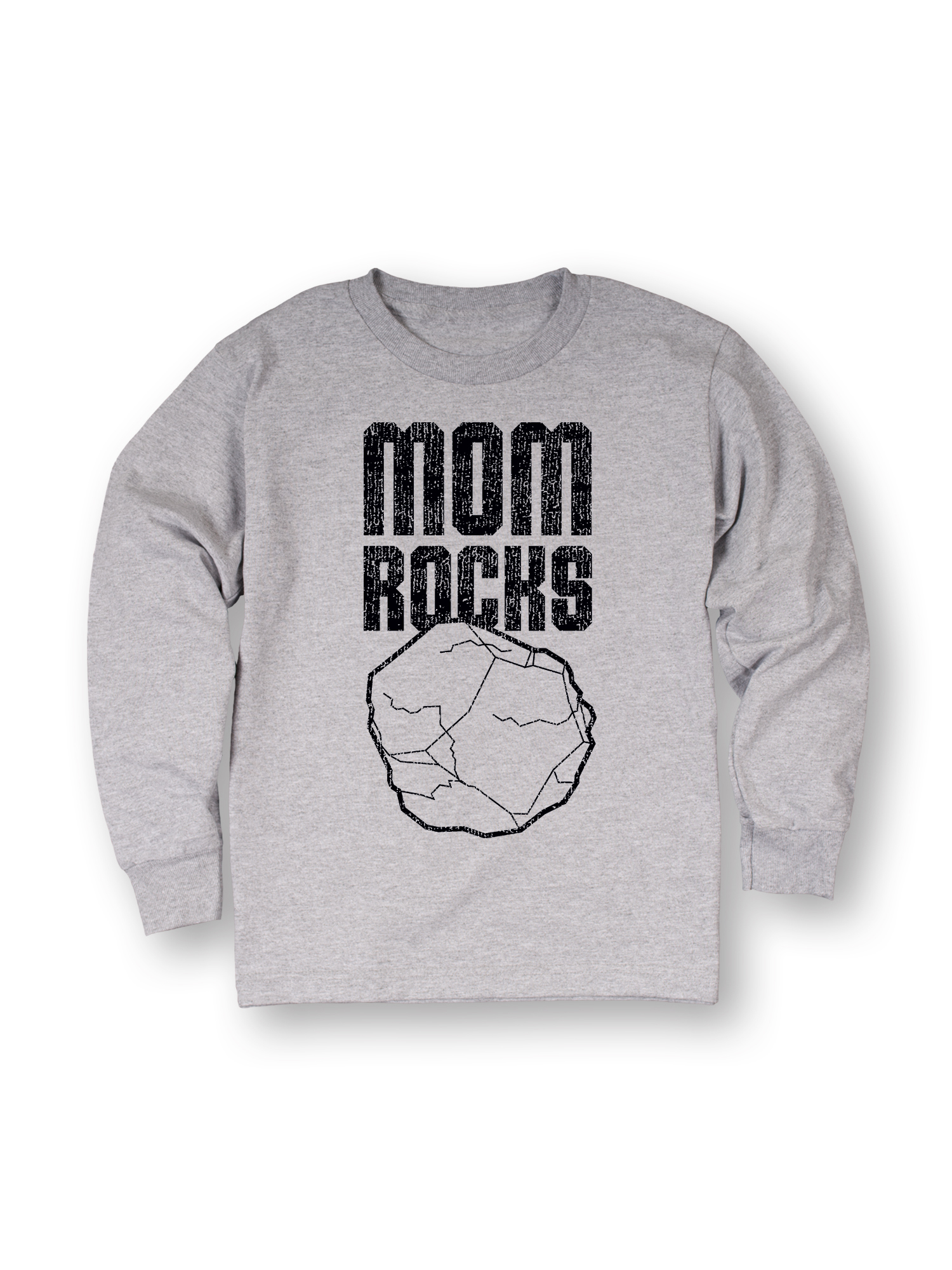 Mom Rocks-TODDLER LONG SLEEVE TEE