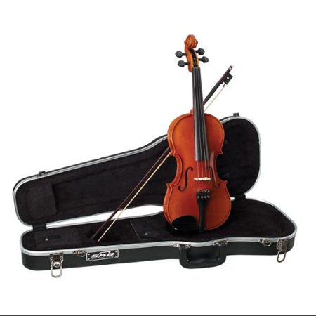 becker, 4-string violin, polished gold brown