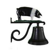 Montague Metal Products CB-1-78-NC Cast Bell With Natural Color Pig Ornament