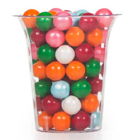 Flared Cylinder Plastic Container Medium (Each) - Party Supplies - Plastic Cylinder Container