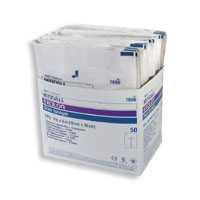 Excilon 6 Ply Drain Sponge Of Size: 4 X 4 Inches, Sterile - 2 Ea/Pack, 25 Packets/Box