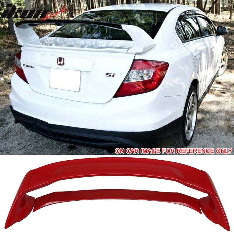 Fits 12-15 Civic 9Th MU Style ABS Trunk Spoiler