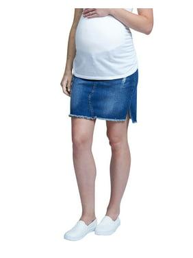 607e933cd6b83 Product Image Maternity Denim Skirt