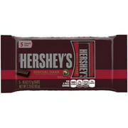 Hershey's Special Dark Mildly Sweet Chocolate Candy, 2.25 Oz., 5 Count