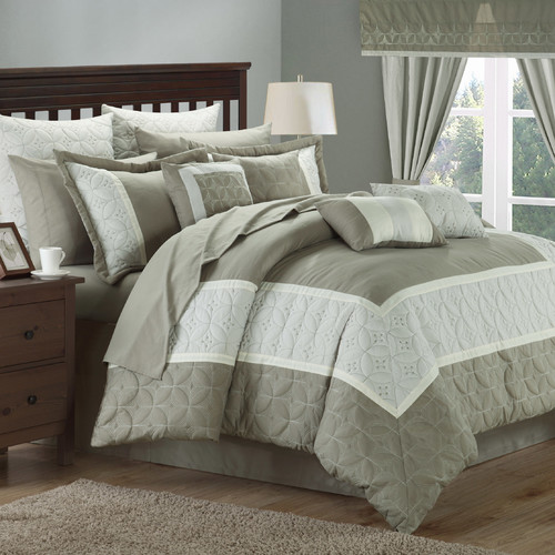 Chic Home Aida 24 Piece Queen Comforter Set
