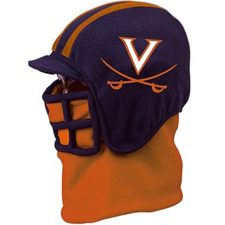 NCAA Football Fleece Helmets with Liner University of Virginia- Medium Adult