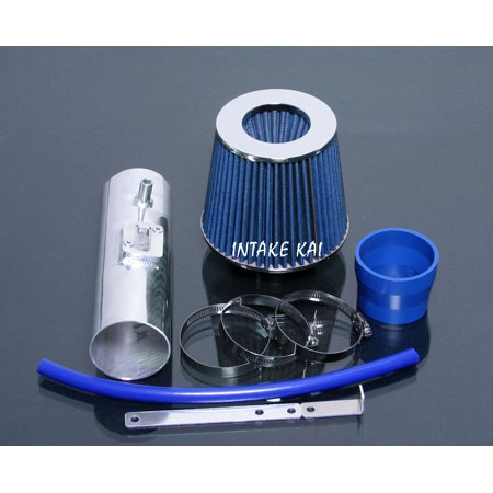 2008 2009 2010 2011 2012 Honda Accord / Crosstour 3.5 3.5L EX EX-L Air Intake Kit Systems (BLUE)