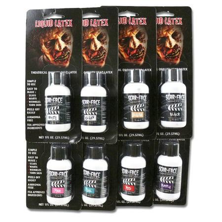 SCAR FACE LIQUID LATEX 1OZ - Walmart.com