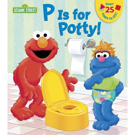 Potty Train Book (P Is for Potty (Board Book))