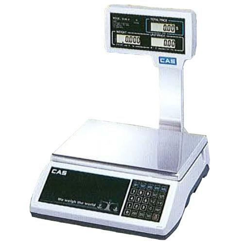 CAS JR-S2000POLE60 Legal for Trade Price Computing Scale  60 x 0 01 lb with Colu