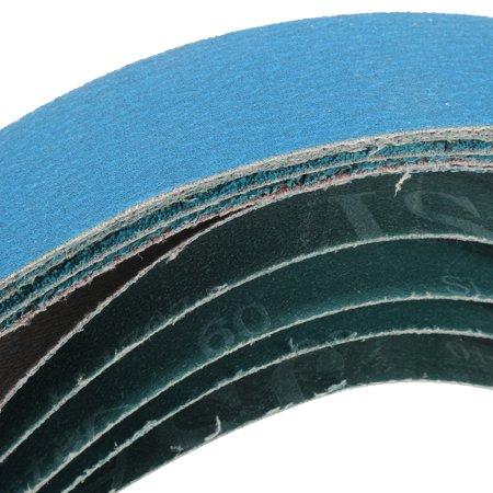 36 Inch 40, 60, 80, 120 Grits Metal Grinding Zirconia Sanding Belts 5 Pack - image 1 of 5