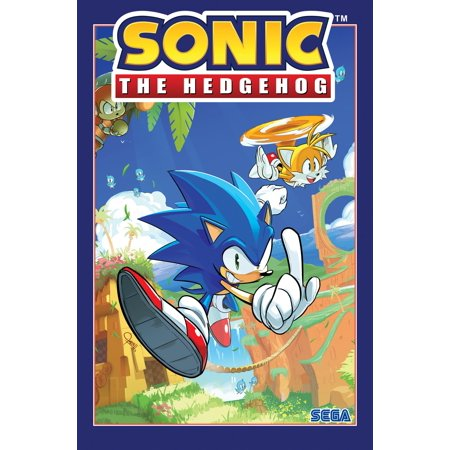 Sonic the Hedgehog, Vol. 1: Fallout! (Paperback)](Taylor The Hedgehog)