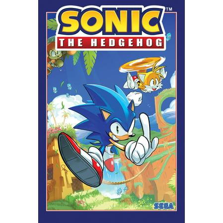 Sonic the Hedgehog, Vol. 1: Fallout! (Paperback) - Hedgehog Information For Kids