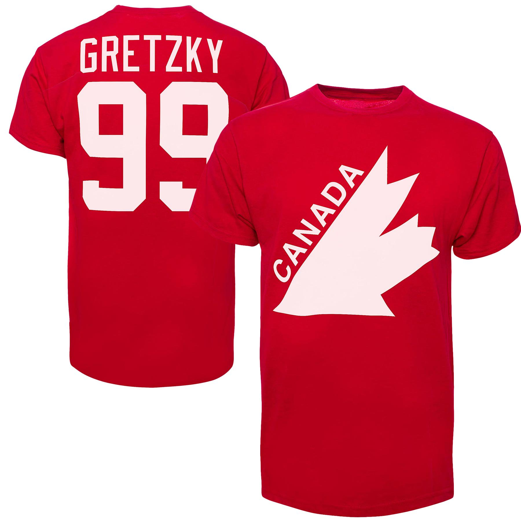 best authentic d9040 48921 Team Canada Wayne Gretzky '47 Vintage IIHF Alumni T-Shirt ...