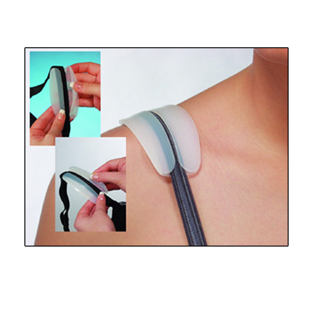 Silicone Non-slip Shoulder Pads Bra Strap Cushions Holder Pain Relief Support LT