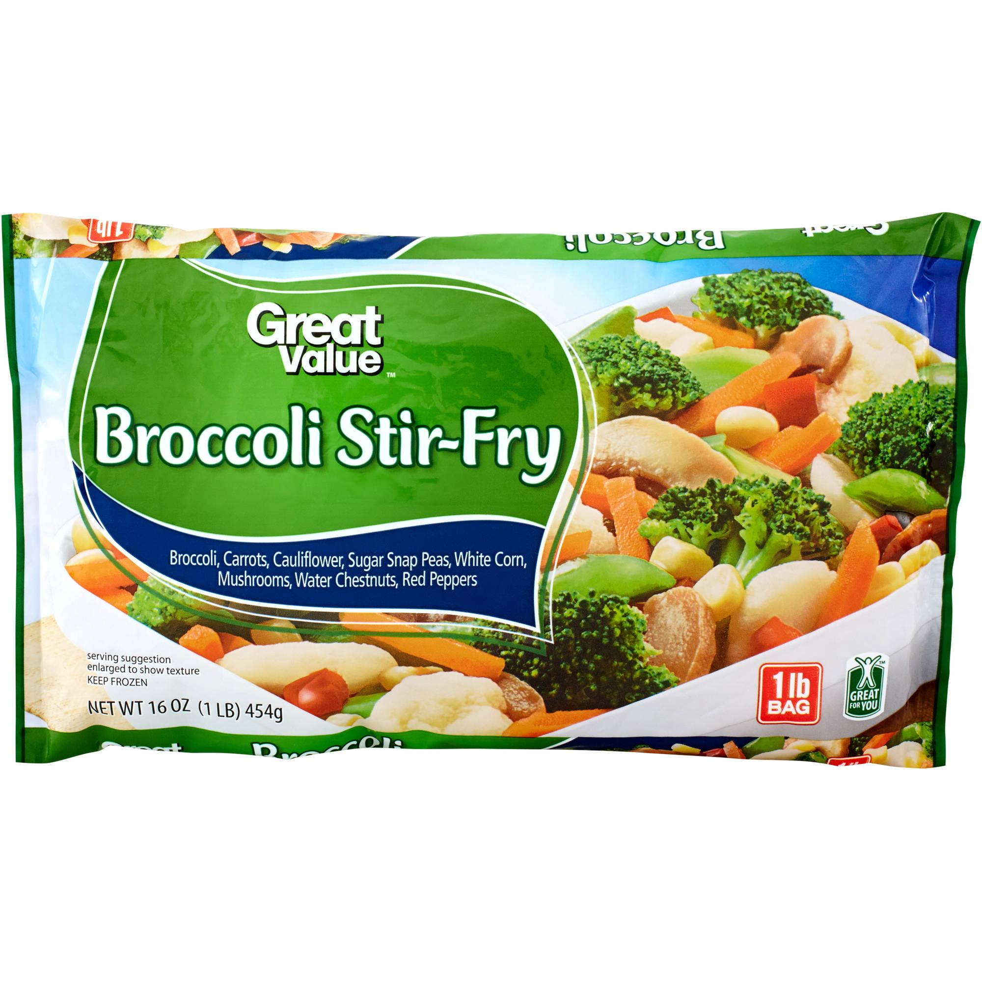Great Value: Broccoli Stir-Fry, 16 Oz