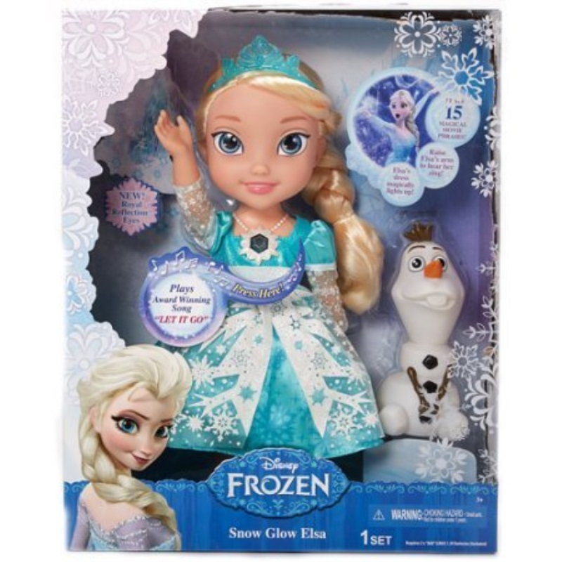 Classic Disney Frozen Snow Glow Elsa - Singing Doll