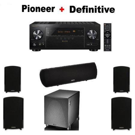 Pioneer VSX LX103 Elite 72 Channel A V Receiver 2 Pairs Of Definitive