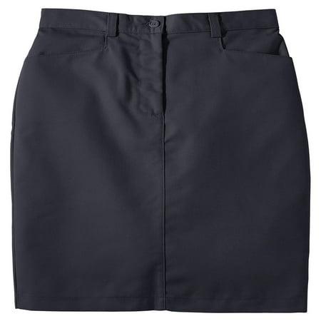 - Edwards Garment Women's Flat Front Chino Skirt, Style 9711