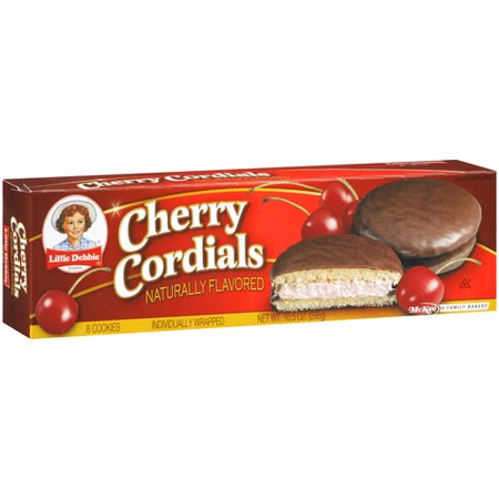 Little Debbie Snacks Cherry Cordials 8ct Walmart Com