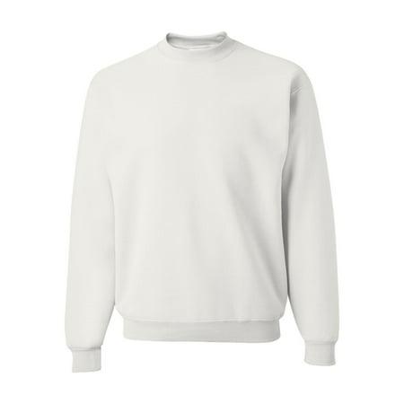 Sandstone Lined Fleece (562MR Jerzees Fleece NuBlend Crewneck Sweatshirt)