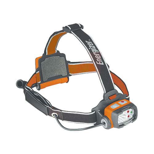 Energizer LED Headlamp, 60 Lumens, Orange/Gray