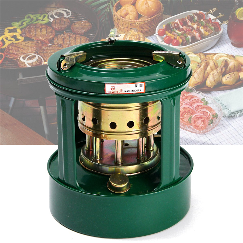 Mini Handy Outdoor 8 Wicks Kerosene Stove Burner Camping Oil Heaters Portable