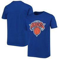 Men's Majestic Blue New York Knicks Victory Century T-Shirt