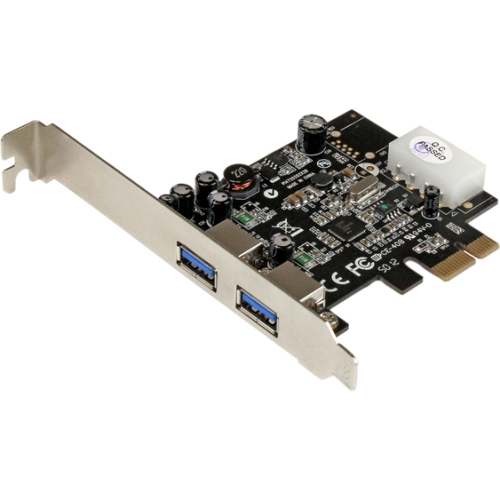 StarTech 2-Port PCI Express (PCIe) SuperSpeed USB 3.0 Card Adapter with UASP