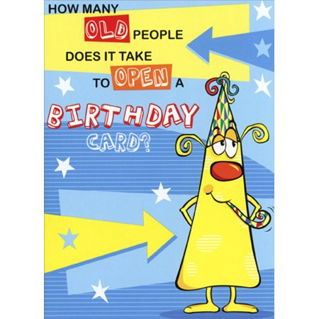 Halloween Cards For Old People (Freedom Greetings How Many Old People Funny / Humorous Birthday)